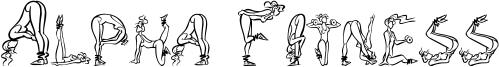 Alpha Fitness Font