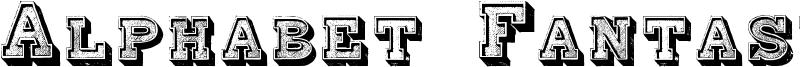 Alphabet Fantasie Font