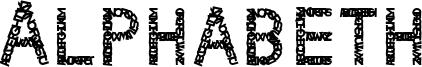 Alphabeth Font