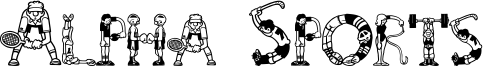 Alpha Sports Font