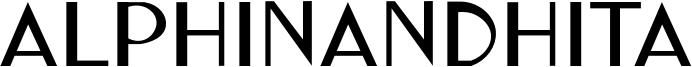 Alphinandhita Font