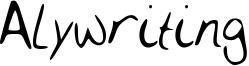 Alywriting Font