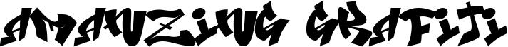 Amanzing Grafiti Font