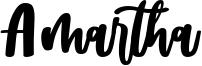 Amartha Font