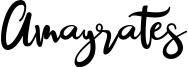 Amayrates Font