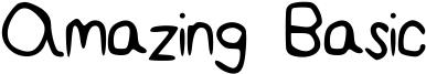 Amazing Basic Font