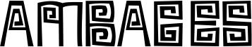Ambages Font