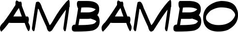 Ambambo Font