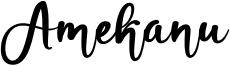 Amekanu Font