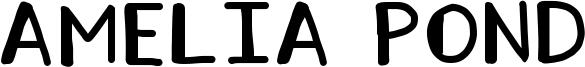 Amelia Pond Font
