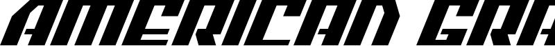 American Grain Font