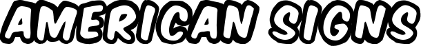 American Signs Font