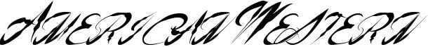 American Western Font