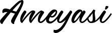 Ameyasi Font