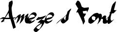 Ameze's Font Font