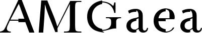 AMGaea Font
