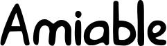 Amiable Font