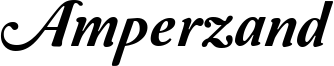 Amperzand Font