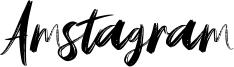 Amstagram Font