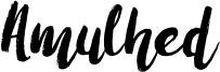 Amulhed Font