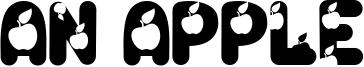 An Apple Font