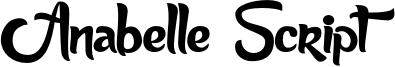 Anabelle Script Light.otf