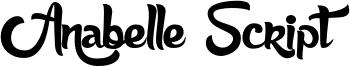 Anabelle Script.otf