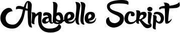 Anabelle Script Font