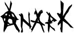 AnarK Font