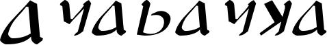 Anayanka Italic.otf