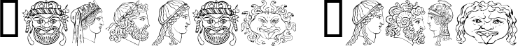 Ancient Heads Font