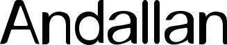 Andallan Font