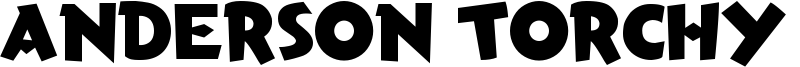 Anderson Torchy the Battery Boy Font