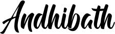 Andhibath Font