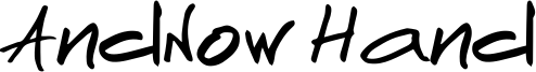 AndNow Hand Font