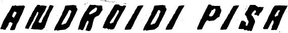 Androidi Pisa Font