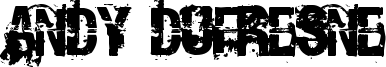 Andy Dufresne Font