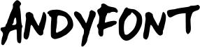 AndyFont Font