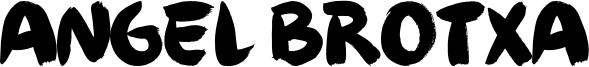 Angel Brotxa Font