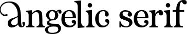 Angelic Serif.otf
