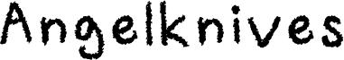 Angelknives Font