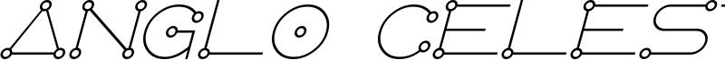 AngloCelestial Italic.otf