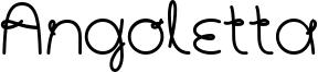 Angoletta Font