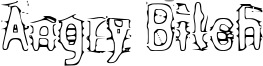 Angry Bitch Font