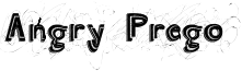 Angry Prego Font