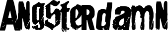 Angsterdamn Font