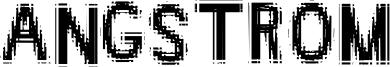 Angstrom Font