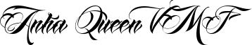 Anha Queen VMF Font