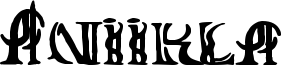 Aniikla Font