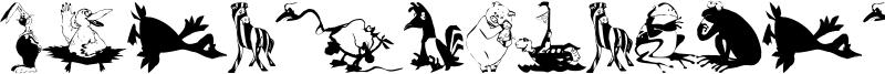 Animal Comedians Font